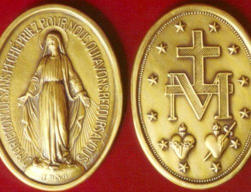 Švč. Mergelės Marijos medalikėlis